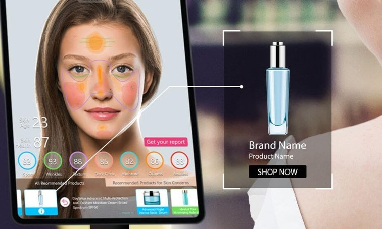 AI skin diagnostic technology will also help brands generate personalized product recommendations for a more fulfilling consumer shopping experience.