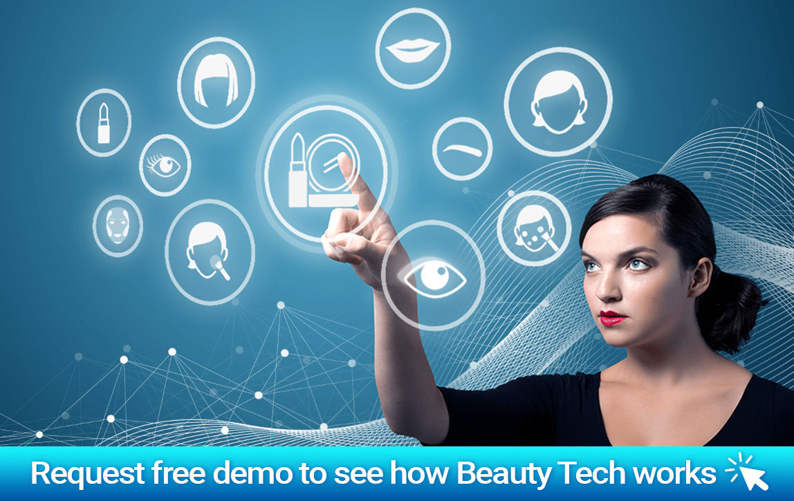 personalized brand experience with beauty tech