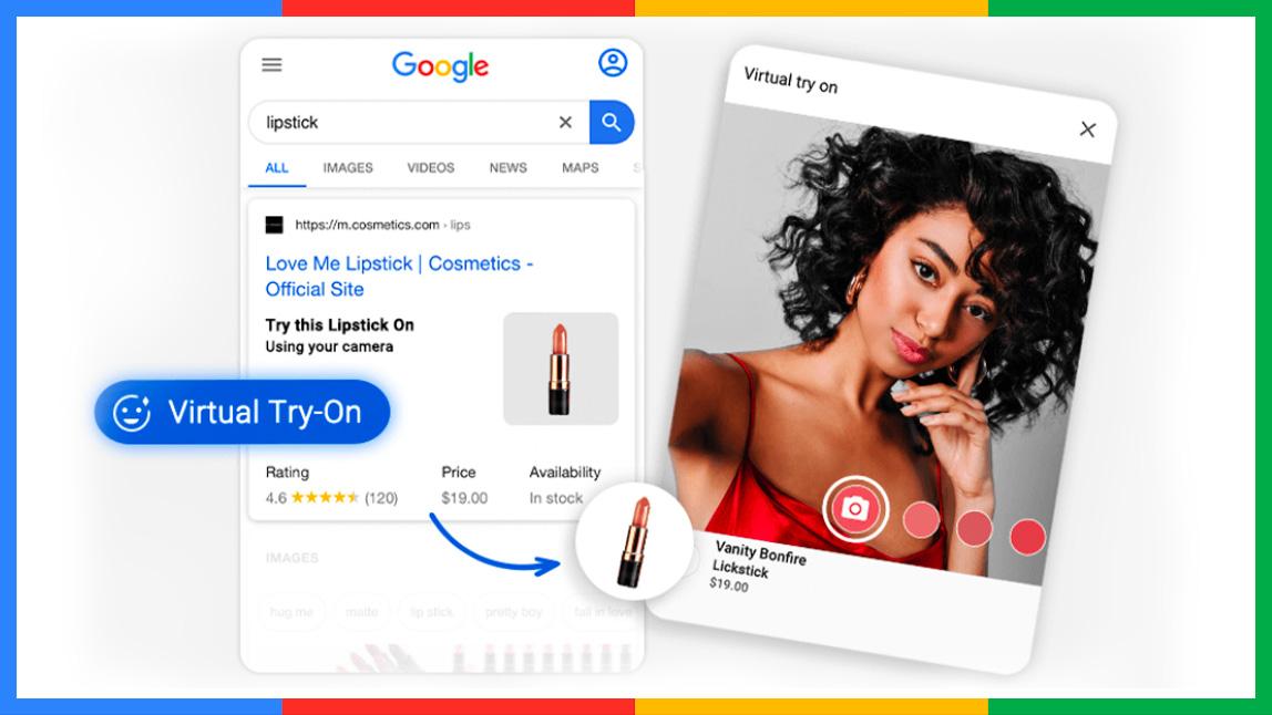 Google Interactive AR Beauty Kit