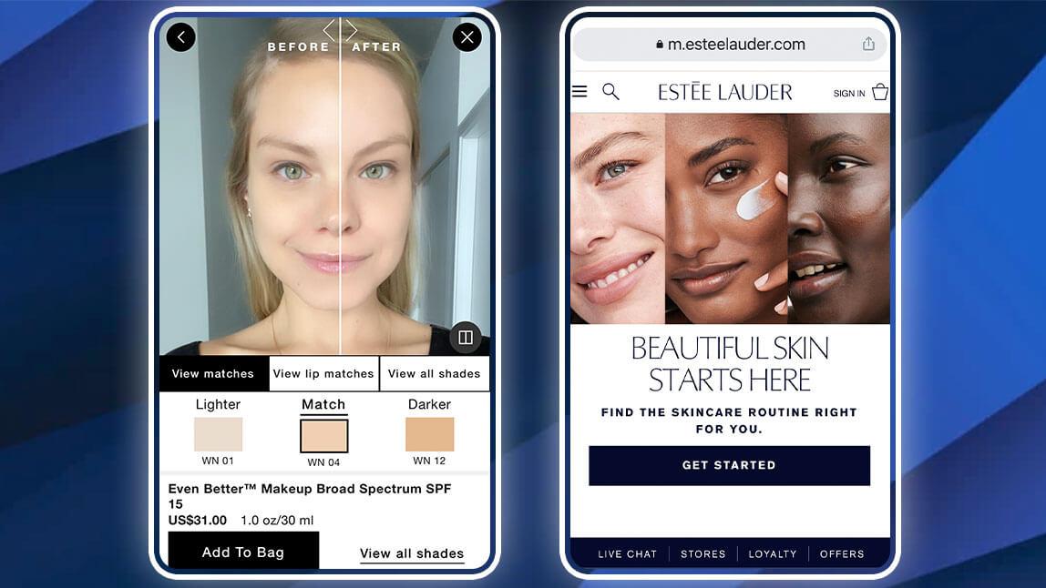 Estee Lauder iMatch Virtual Shade Expert