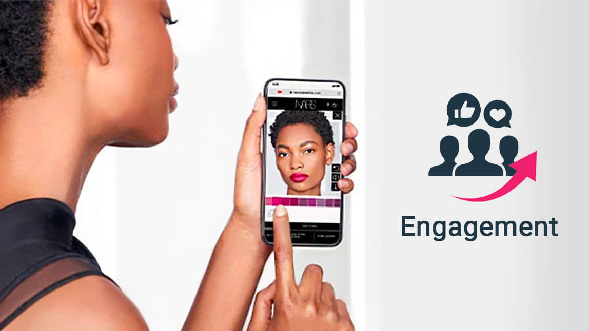 Engagement in beauty space