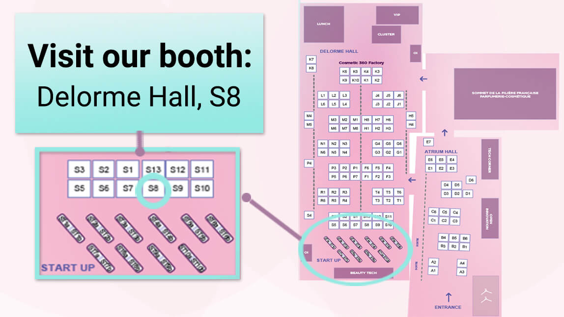 Visit our booth at Cosmetic 360