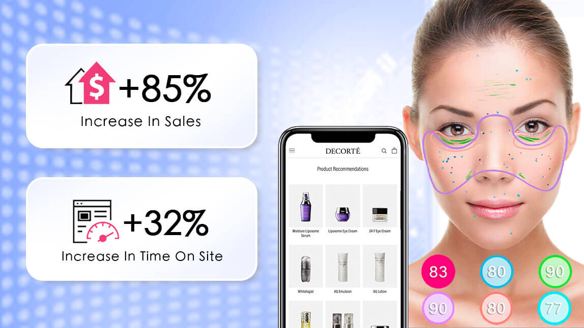 Decorte Increases Time Spent on Site +32% with AI Skincare Diagnostic and Virtual Try-On